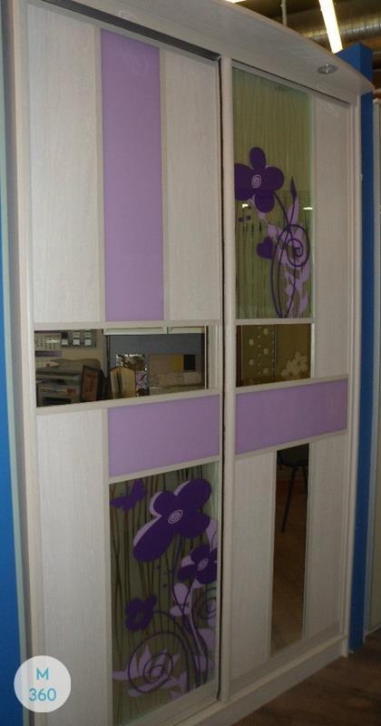 Фиолетовый шкаф купе Форли Арт 000284674