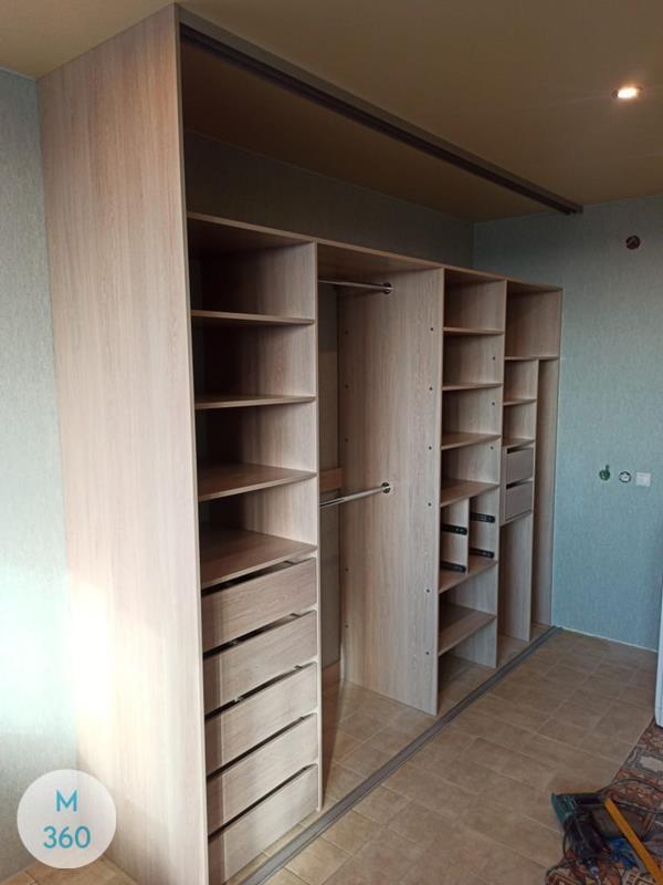Встроенный шкаф купе в спальню Абелсон Арт 000492574