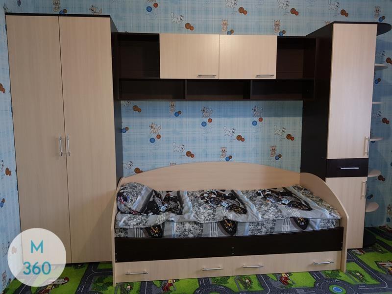 Шкаф для игрушек в детскую Форт-Уэрт Арт 000522981