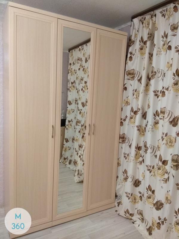 Радиусный шкаф с зеркалом Олаф Арт 000546597