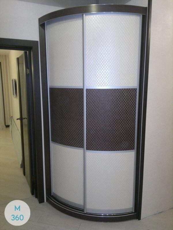 Выпуклый радиусный шкаф Манила Арт 000563582
