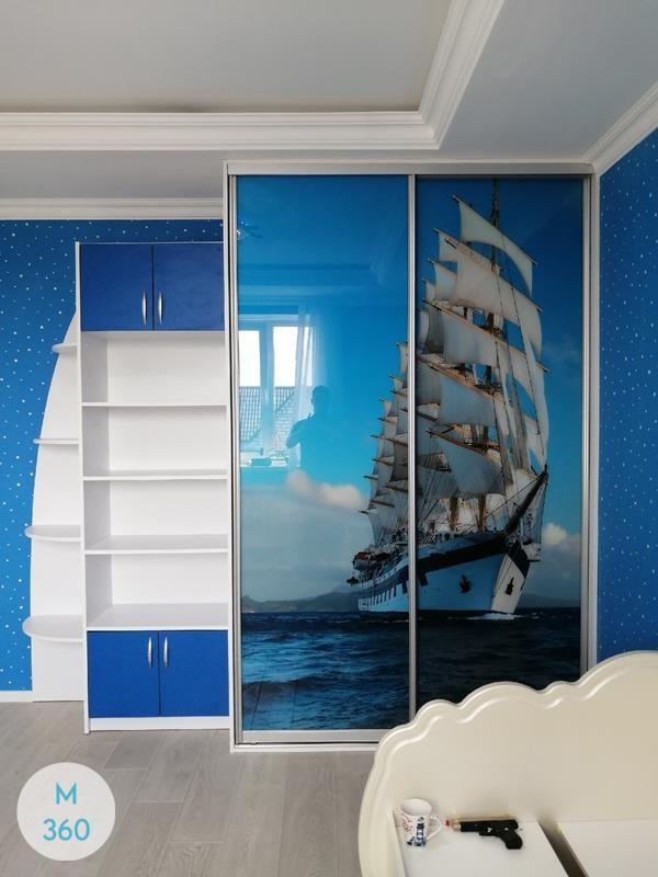 Шкаф в морском стиле Канск Арт 000666525