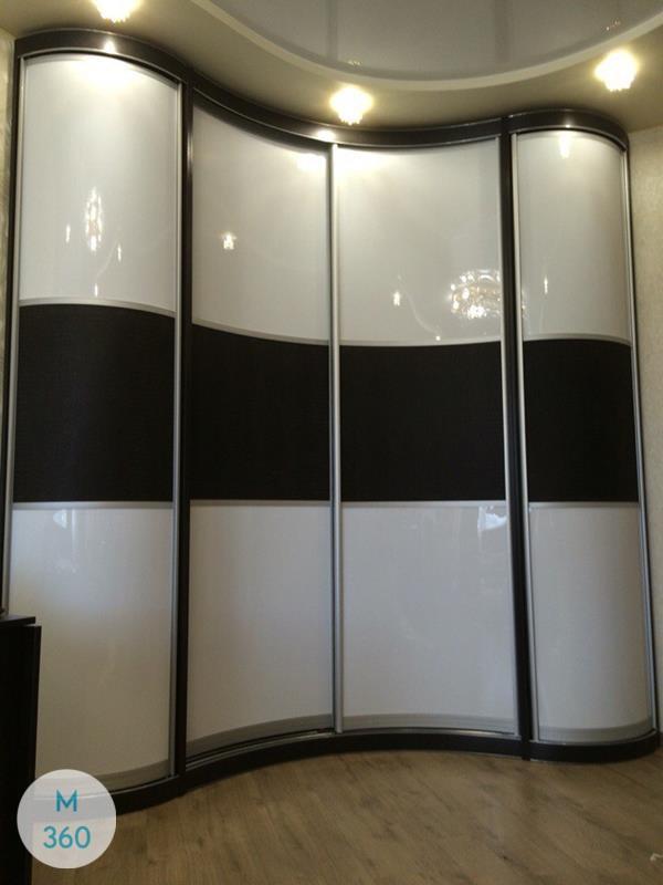 Шкаф-купе стеклянные двери Невада Арт 000678802