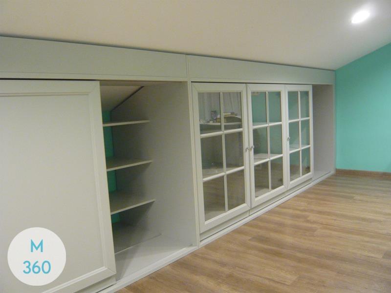 Книжный шкаф со стеклянными дверцами Топика Арт 000938269