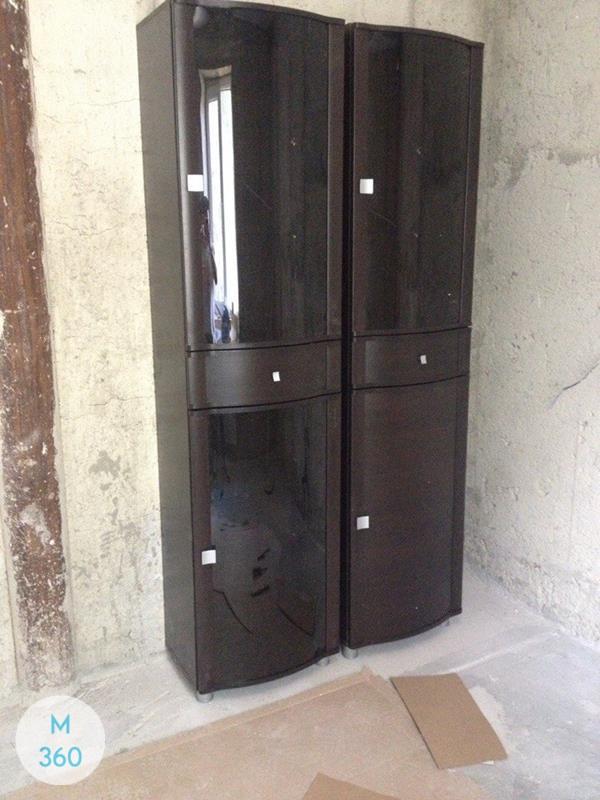 Черный распашной шкаф Плимут Арт 000979321