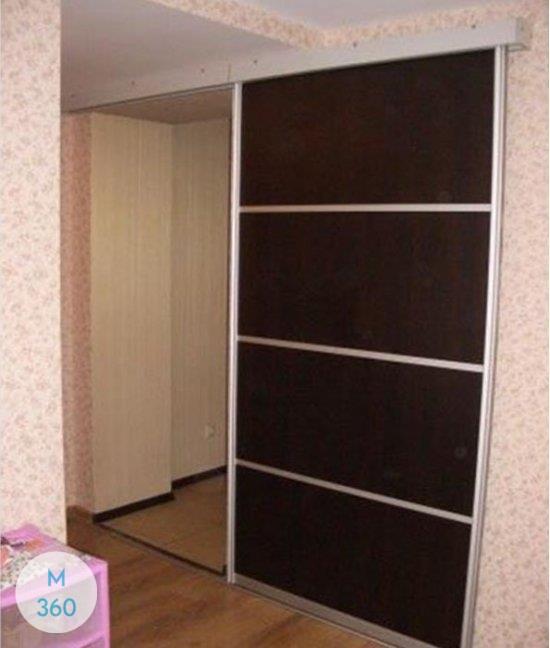 Черный шкаф купе Айова Арт 001095375