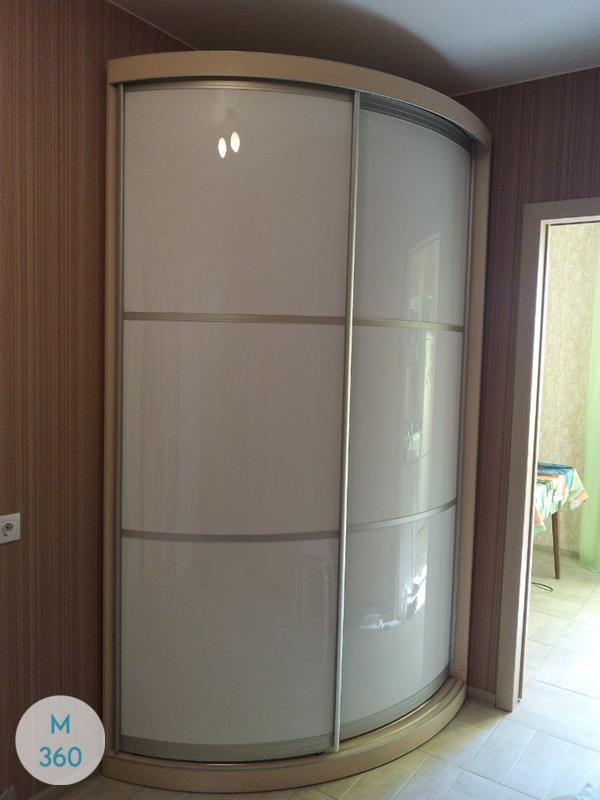 Выпуклый радиусный шкаф Концепт Арт 001337803