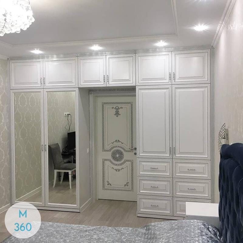 Белый шкаф купе Каракас Арт 001391909