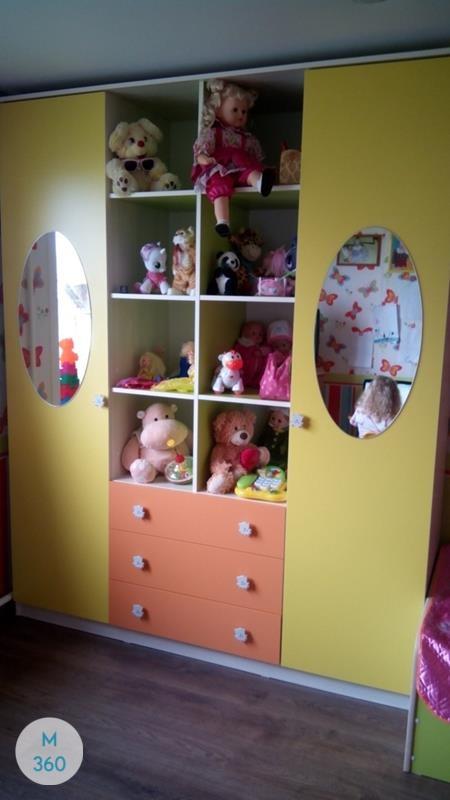 Гардеробный шкаф для детской Анахайм Арт 001506896