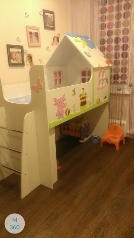 Шкаф для игрушек в детскую Лимож Арт 001528765