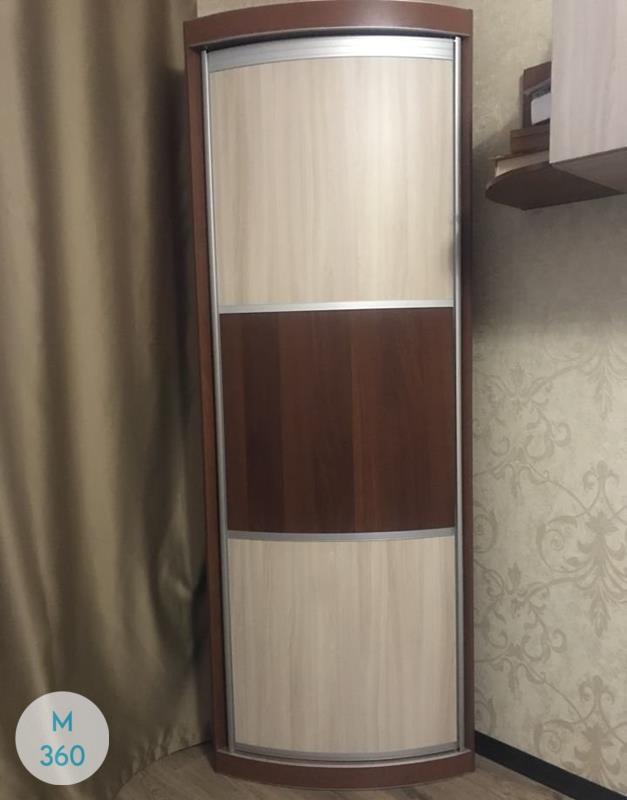 Выпуклый радиусный шкаф Хастл Арт 001537105