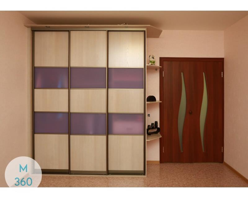 Фиолетовый шкаф купе Туркмения Арт 001565732