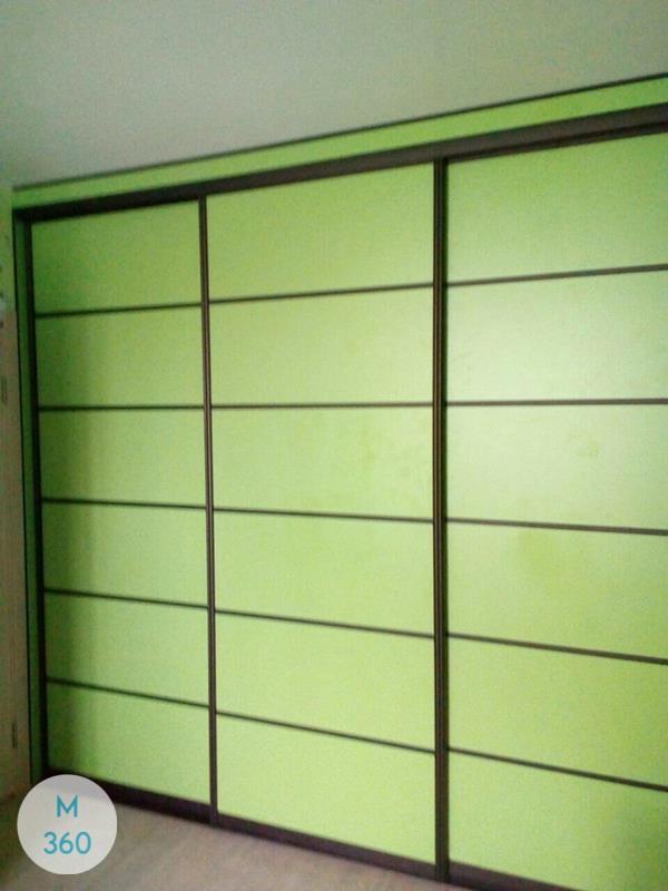 Зеленый шкаф купе Каспийск Арт 001722950
