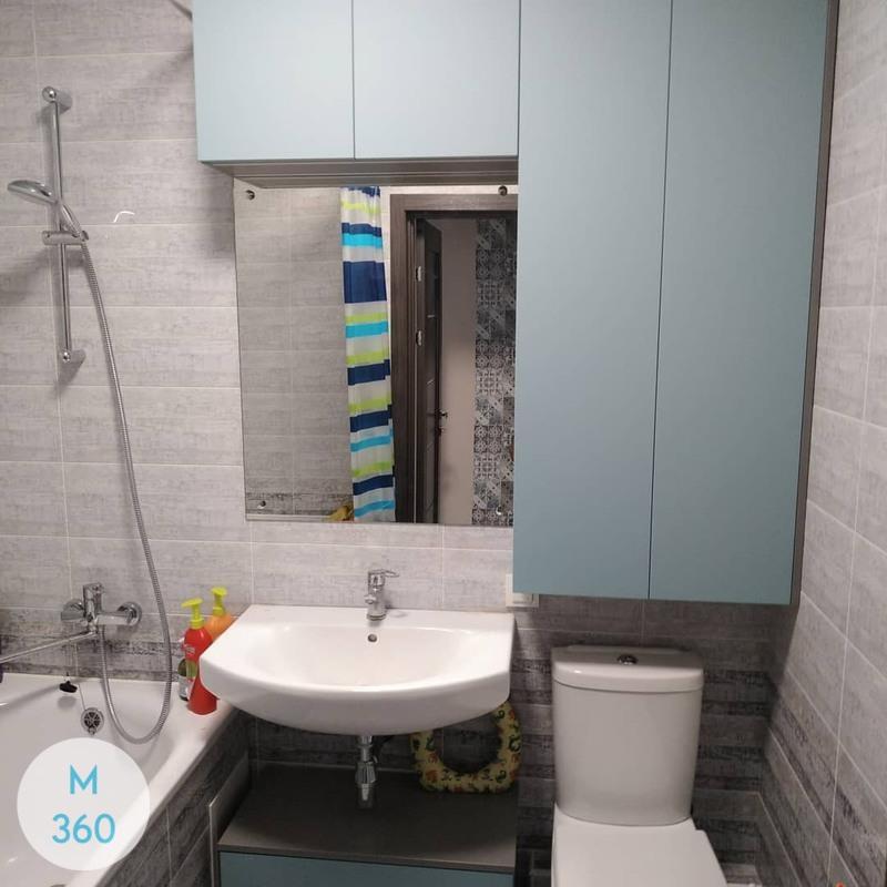 Шкаф в ванную комнату Элюяр Арт 001729422