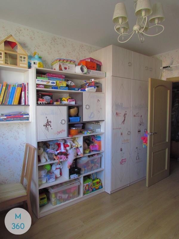 Гардеробный шкаф для детской Доменика Арт 001847537