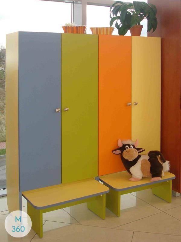 Шкаф для детских раздевалок Монтрей Арт 001883444