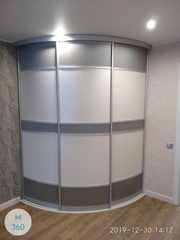 Выпуклый радиусный шкаф Монстера Арт 001929066