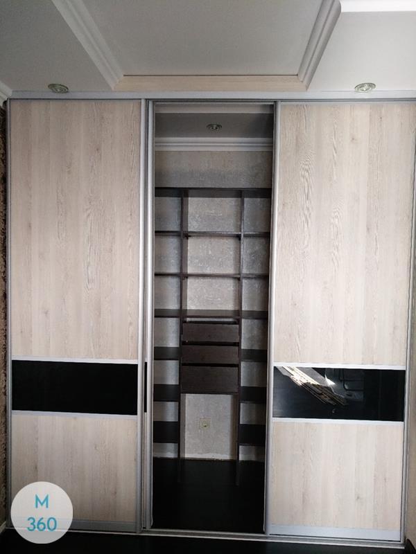 Светлый с темным шкаф купе Крымск Арт 002084903