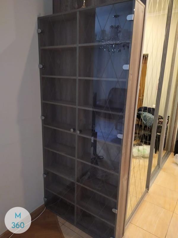 Книжный шкаф со стеклянными дверцами Дерри Арт 002137812