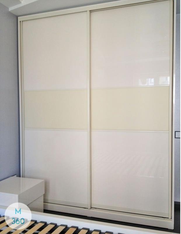 Шкаф купе с кожаными вставками Уругвай Арт 002155172