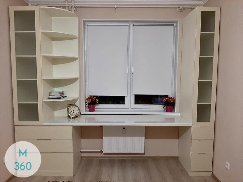 Встроенный шкаф с распашными дверями Барбаросса Арт 002356175