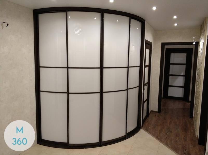 Выпуклый радиусный шкаф Риччи Арт 002555078