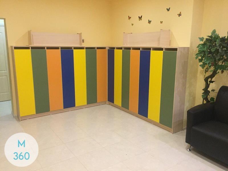 Шкаф для детских раздевалок Эмануэле Арт 002599856
