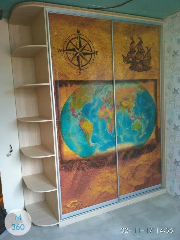 Шкаф в морском стиле Люксор Арт 002621027