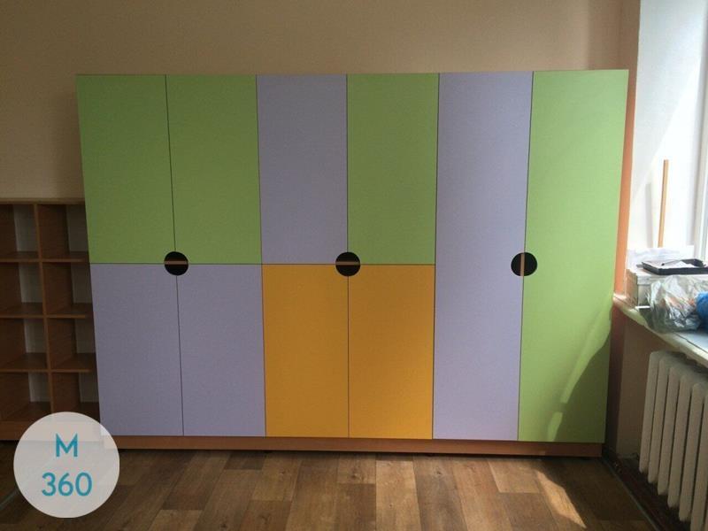 Шкаф для детских раздевалок Лаваль Арт 002650770