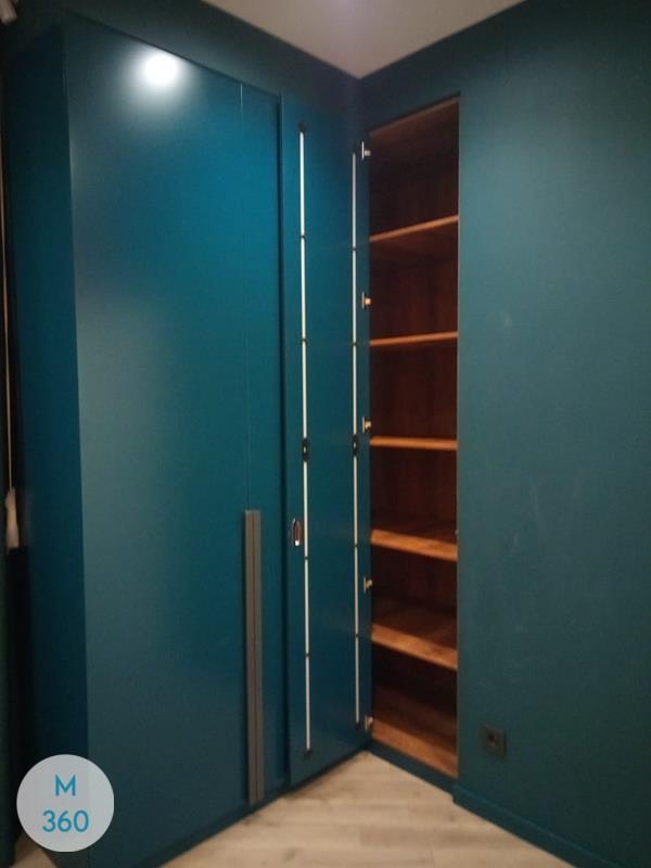 Синий распашной шкаф Дарио Арт 002677895