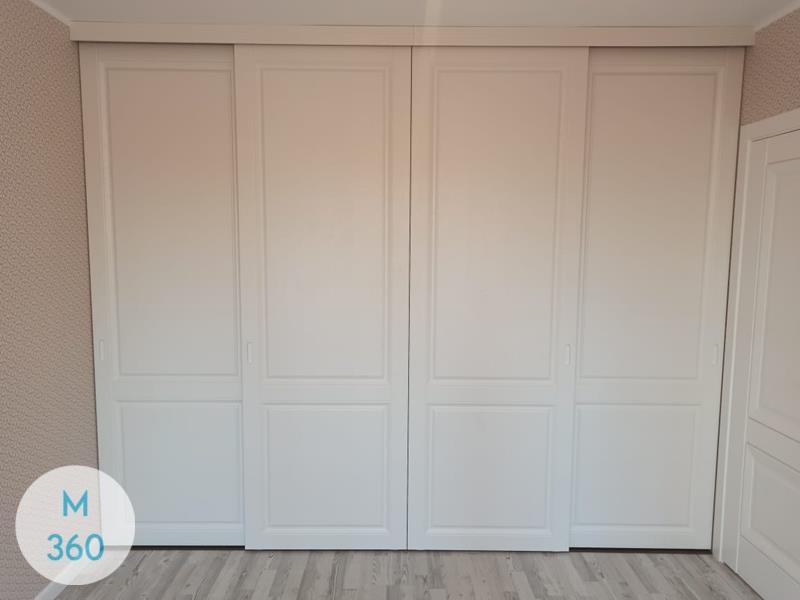 Встроенный шкаф купе в спальню Сенегал Арт 003428275