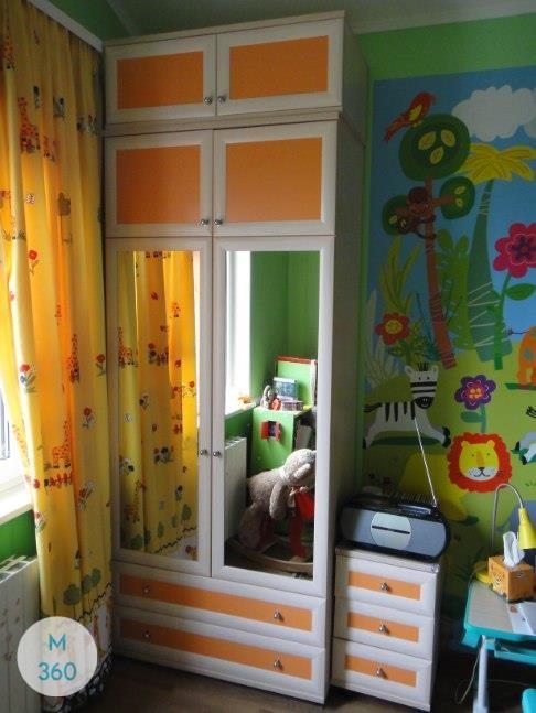 Желтый шкаф Солигорск Арт 003497097