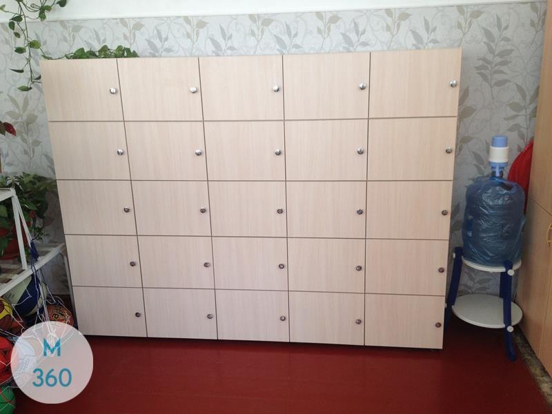 Шкаф для детских раздевалок Луиджи Арт 003531918