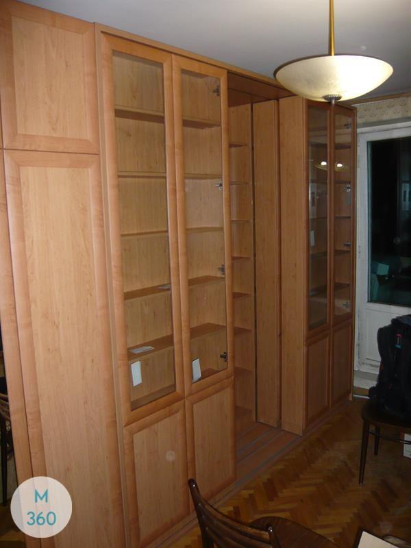 Книжный шкаф из массива Перей Арт 004188170