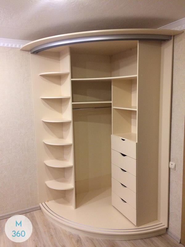 Радиусный вогнутый шкаф Урсула Арт 004192782