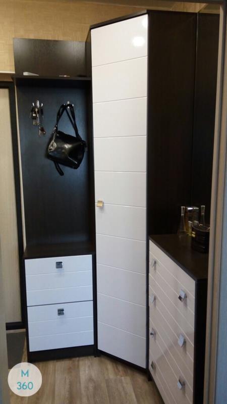 Радиусный шкаф с зеркалом Саннивейл Арт 004231267