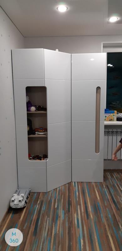 Шкаф для одного человека Джорджия Арт 004238782