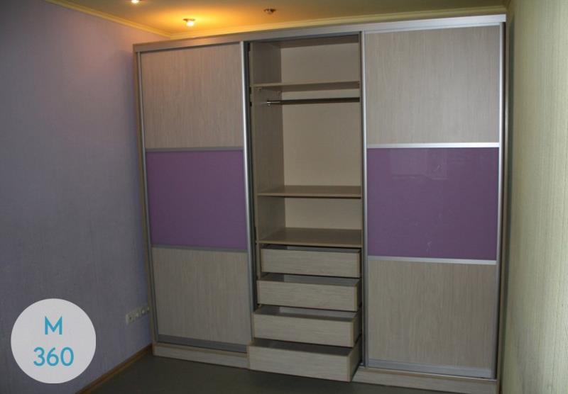 Фиолетовый шкаф купе Орша Арт 004292911
