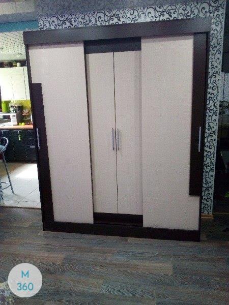 Черный распашной шкаф Виста Арт 004473323