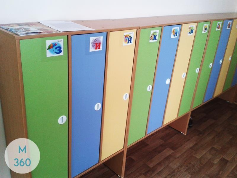 Шкафчик для детского сада Яунде Арт 004605679