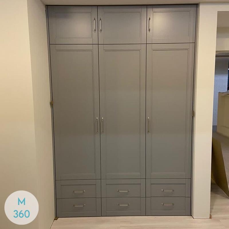 Распашной шкаф лофт Акулина Арт 004687527