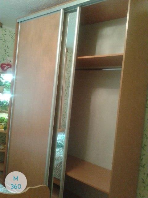 Радиусный шкаф с зеркалом Фоджа Арт 005068786