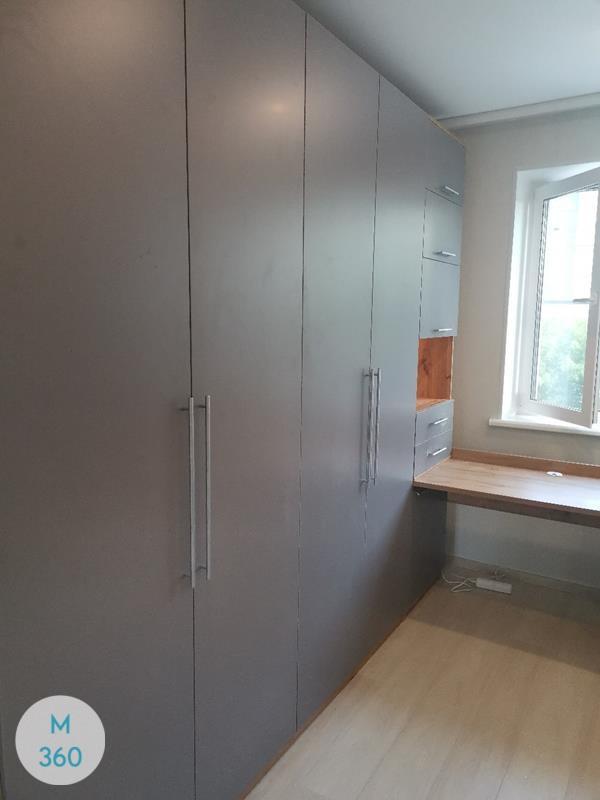 Серый распашной шкаф Оттавиа Арт 005413320