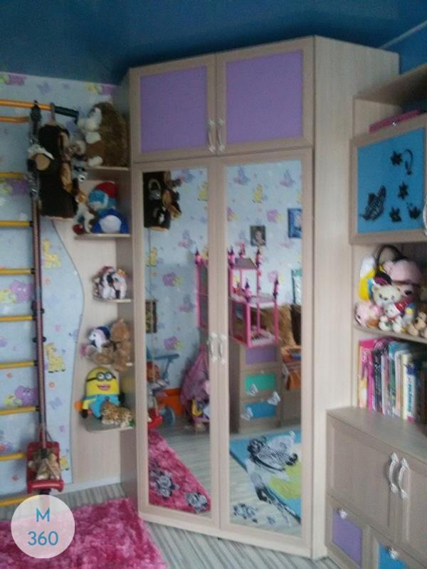 Шкаф с боковым зеркалом Вольта Арт 005462105
