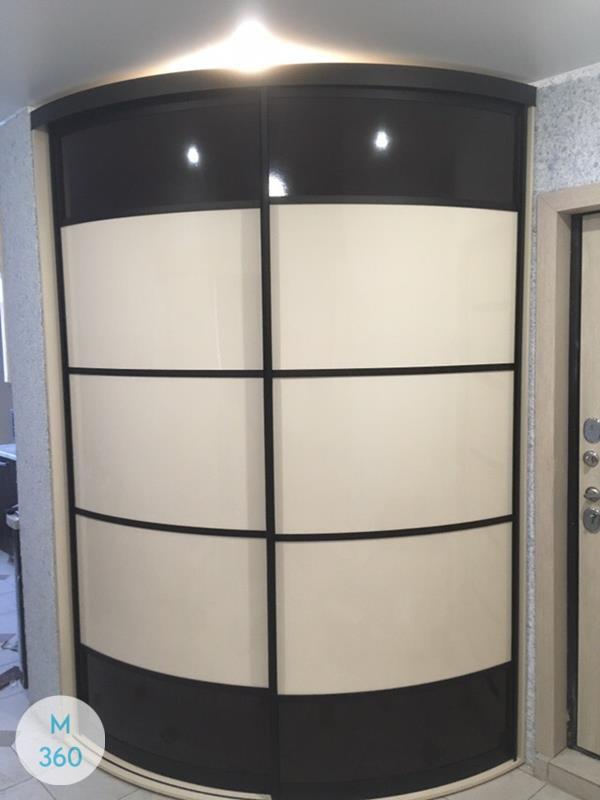 Выпуклый радиусный шкаф Могадишо Арт 005528876