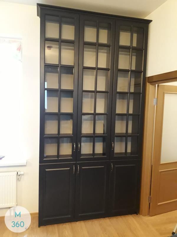 Книжный шкаф со стеклянными дверцами Гамбия Арт 005610273