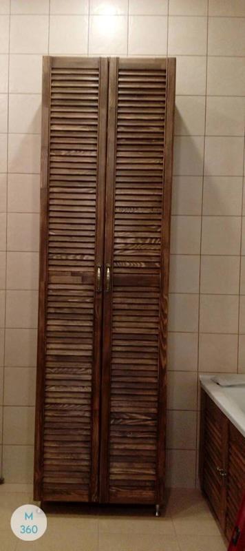 Шкаф в ванную комнату Нанси Арт 006200127