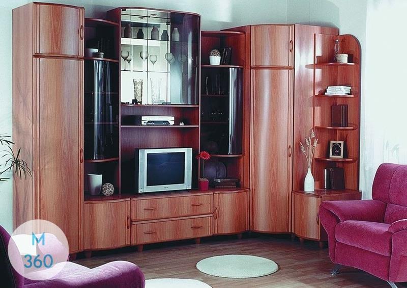 Радиусный вогнутый шкаф Небо Арт 006339895