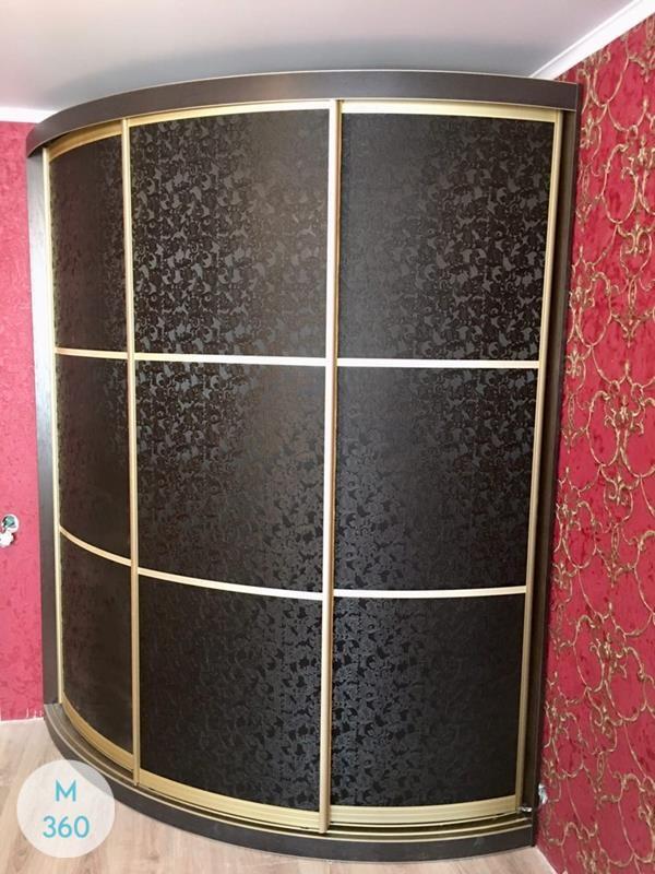 Выпуклый радиусный шкаф Акрон Арт 006863244