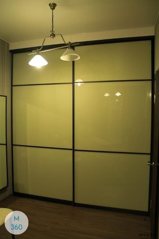Зеленый шкаф купе Джульетта Арт 007160500